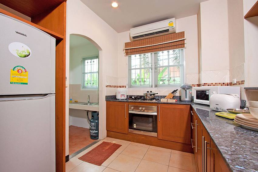 Kitchen room with refrigerator Of Jomtien Ascension B