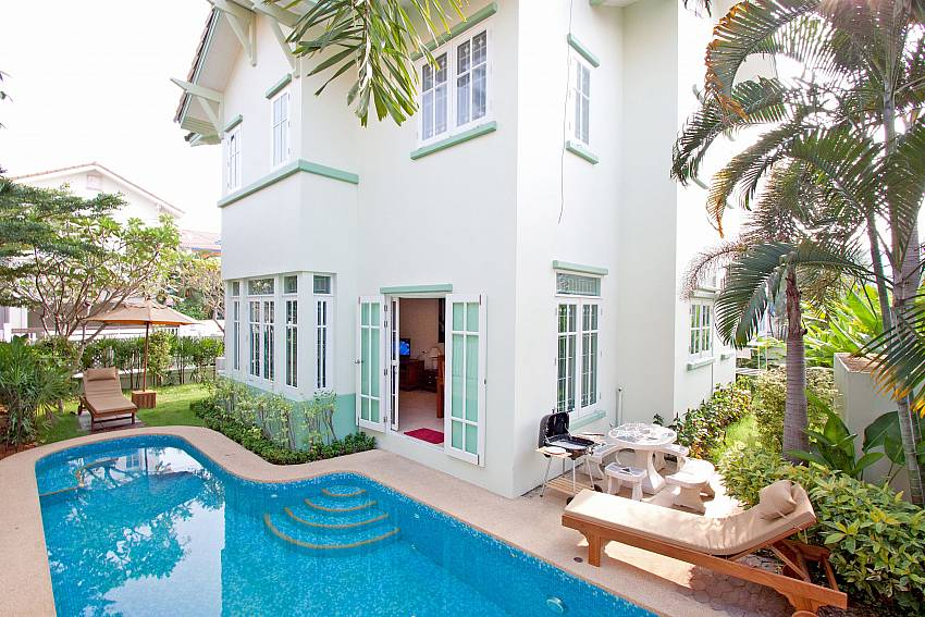 Jomtien Ascension B in Pattaya is a great family home