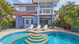 Baan Duan - 5 Bed - Colourful and Homely Family Villa