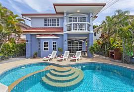 Baan Duan - VIlla 5 chambres avec piscine près de Jomtien Beach