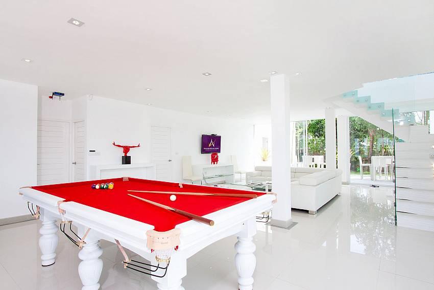 Pool table Of Na Jomtien Beachfront Villa