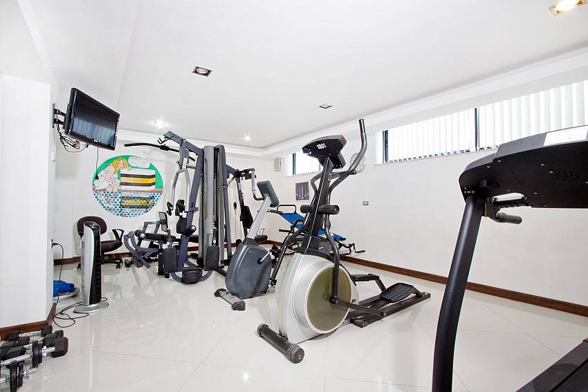 Fitness room Of Royale Grand Villa