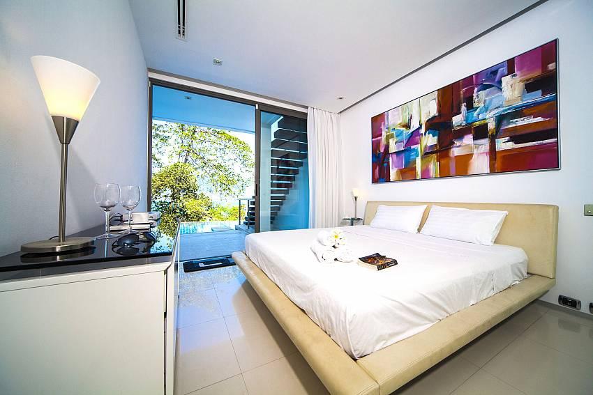 Bedroom see views Of Seductive Sunset Villa Patong A5 (Second)
