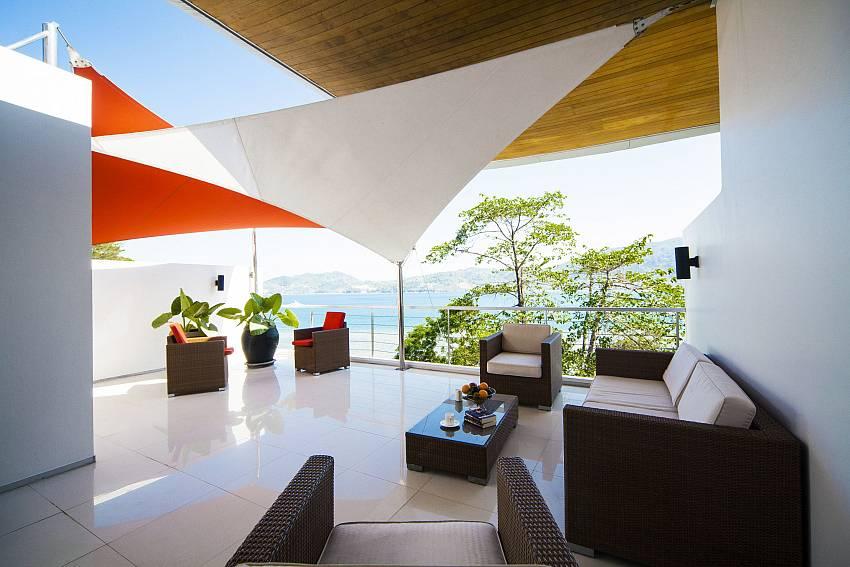 Living corner open air Of Seductive Sunset Villa Patong A5