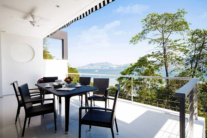 Dinning table outdoor Of Seductive Sunset Villa Patong A5
