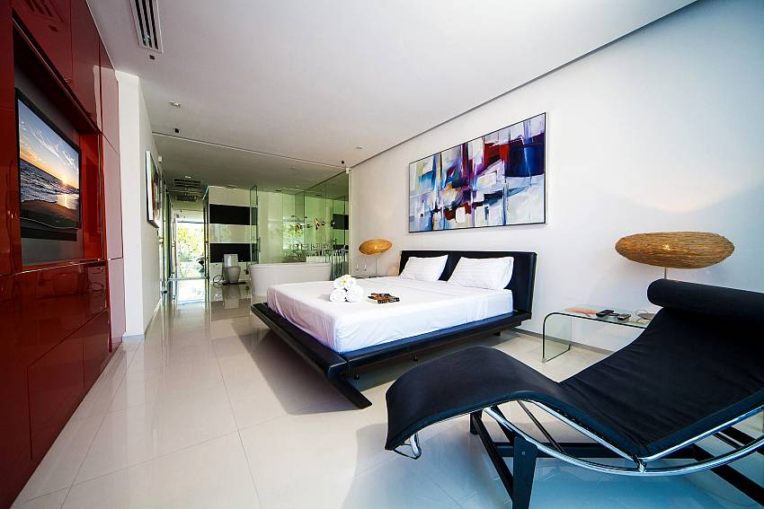 Bedroom built in Of Seductive Sunset Villa Patong A5 (First)