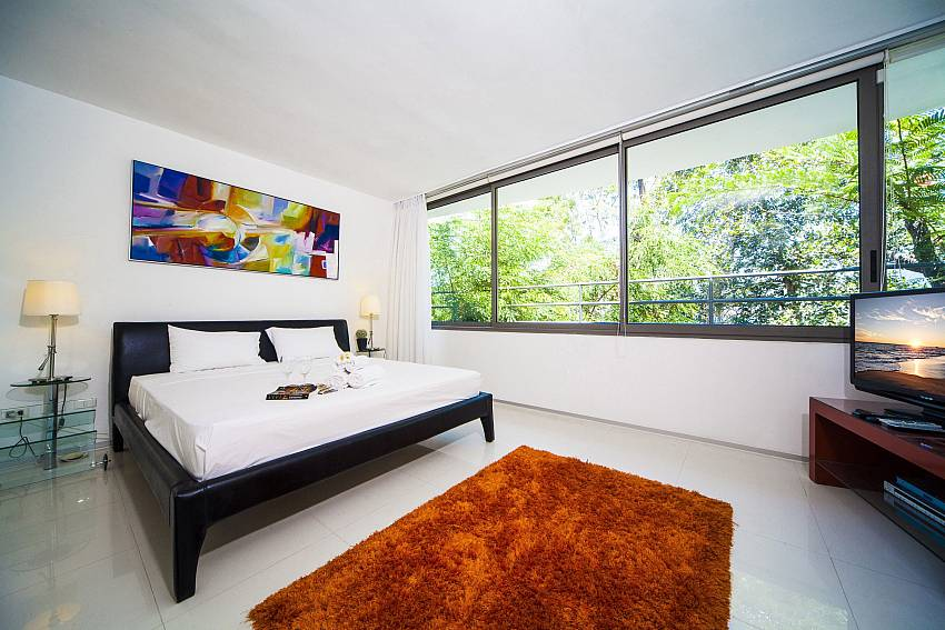 Bedroom views with TV Of Seductive Sunset Villa Patong A5 (Third)