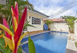 Baan Chokdee | 5 Betten Pool Villa nahe vom Jomtien Beach Südpattaya