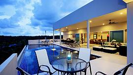 View Peche Villa - 9 Bed - 180 Degree Views across the Andaman Sea