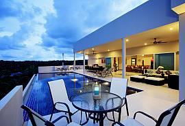 View Peche Villa - Villa 8 chambres avec une vue magnifique sur la mer d'Andaman, Phuket