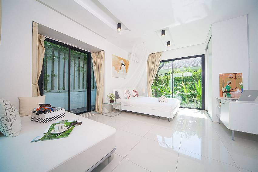 2 single bedroom at Villa Chabah in Kamela West Phuket