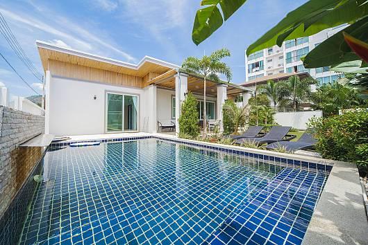 Аренда виллы на Пхукете: Villa Juliet - 2 Bed - Modern Design Villa in Kamala, 2 Спальни. 8564 бат в день