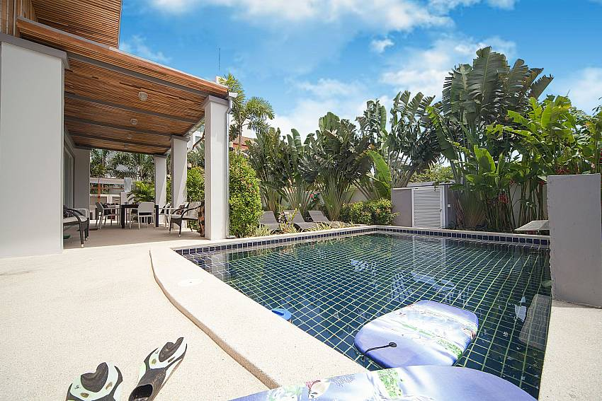 Private pool at Villa Juliet in Kamela West Phuket