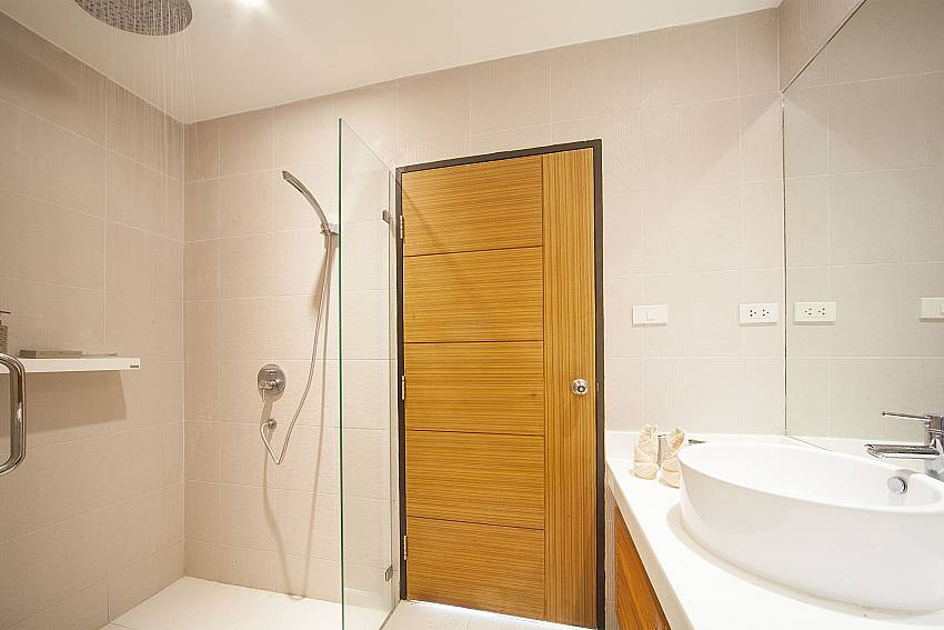 Bathroom with shower in Villa Juliet Phuket