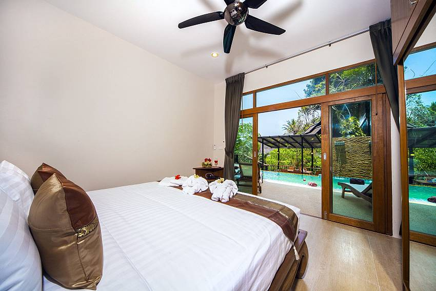 Bedroom near the pool Of Patong Hill Estate Seven (Second)