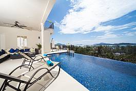 8 bedroom Holiday Home With Stunning Infinity Pool Rawai Beach Phuket