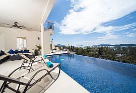 Villa Hin Fa−プーケットにある海の景色の見える広々な8ベッドルーム物件
