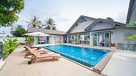 Villa Naiyang - 5 Bed - Private Pool Holiday Villa Near Nai Yang Beach