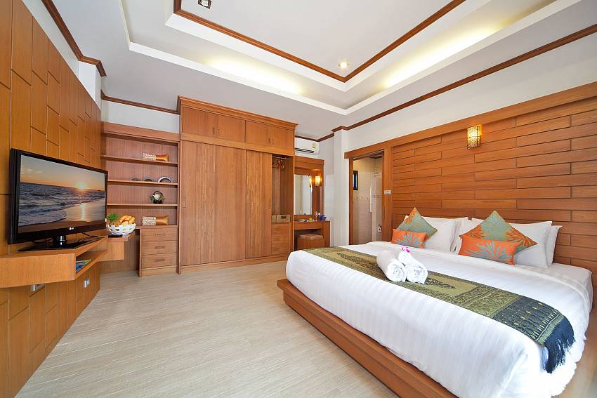 Bedroom built in Of BangTao Tara Villa 2 (Second)
