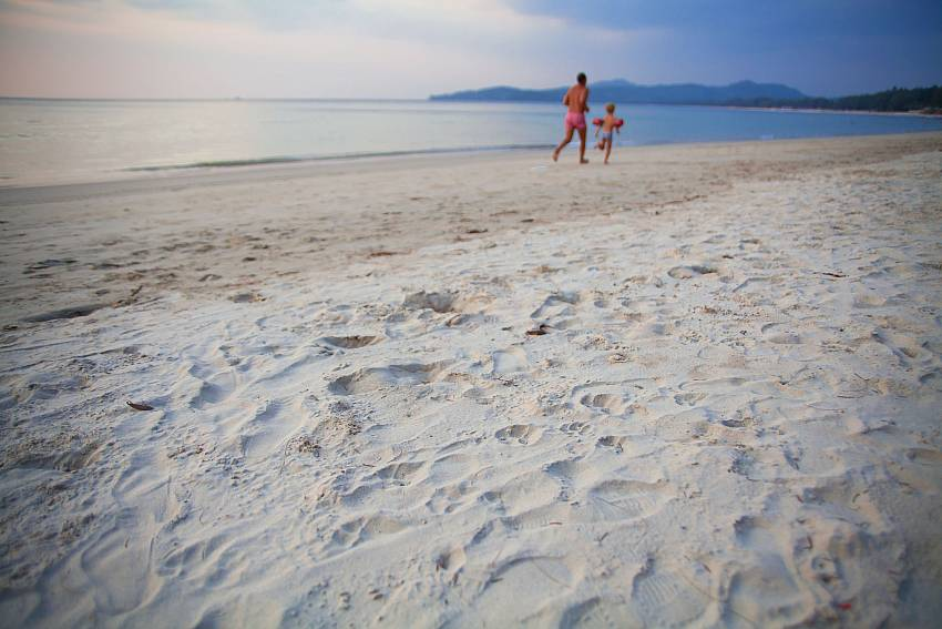 Have a romantic stroll along the nearby beach of BangTao Tara Villa 2 West Phuket