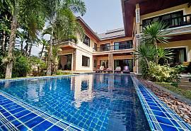 BangTao Tara Villa 1 - супер-современная вилла с четырьмя спальнями и собственным бассейном