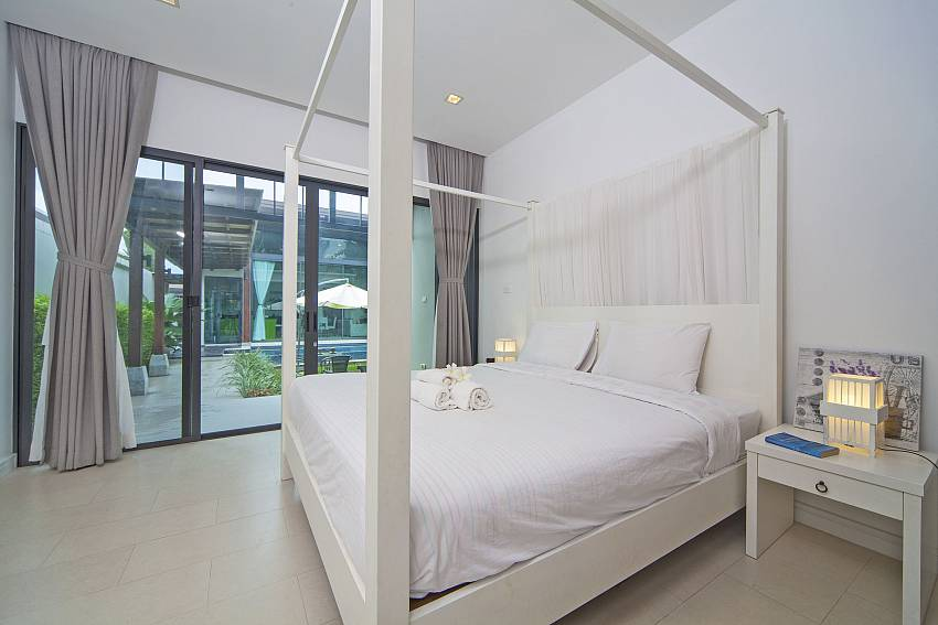 Master bedroom with pool views  Of Baan Wana 8 (First)