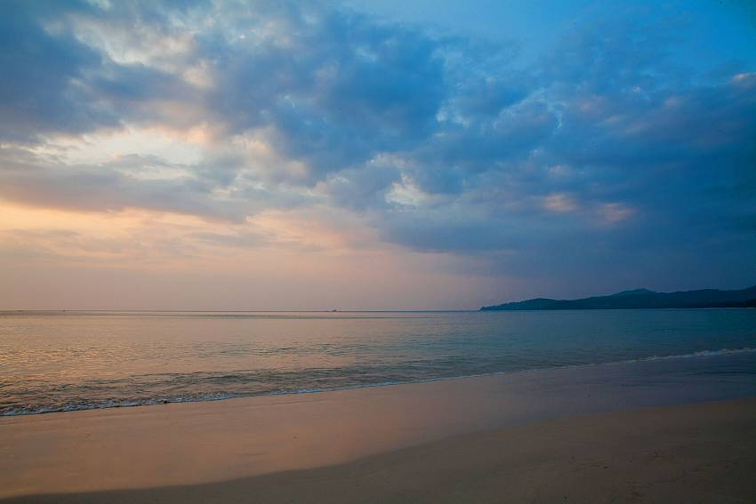 Enjoy the unspoiled Bang Tao Beach near Baan Wana 8 Phuket