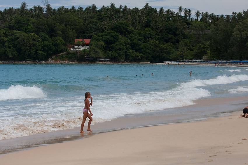 Mile long Surin beach is not far from Baan Wana 8 Central Phuket