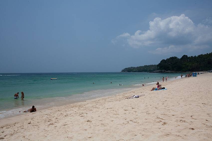 Surin beach is just a few minutes drive from Baan Wana 8 Central Phuket