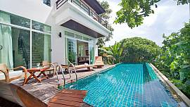 Karon Hill Villa 12 – 3 Bed – Privacy and Comfort in Spacious Pool Villa