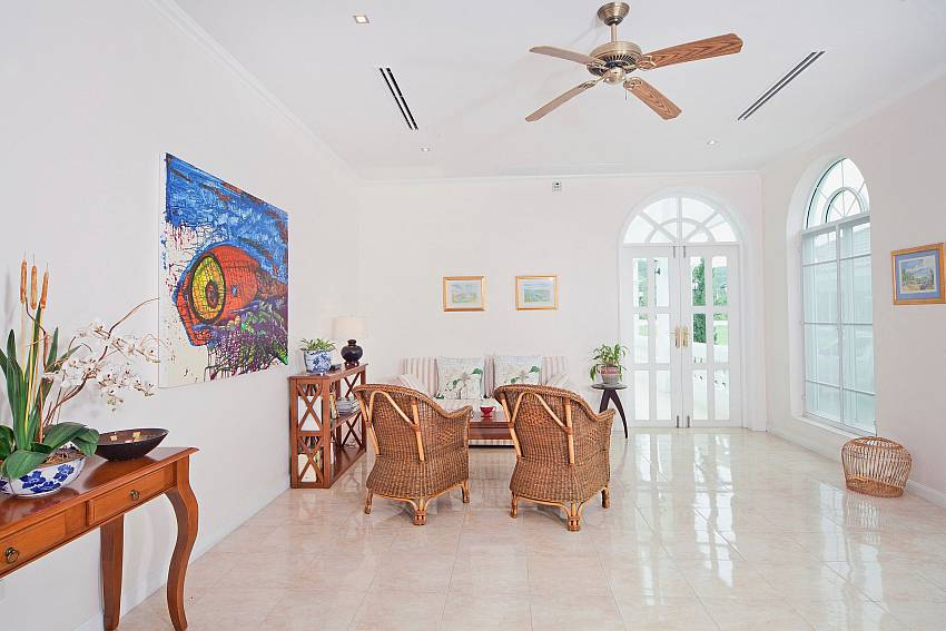 Overall view of the living room Of Hua Hin Manor Palm Hills