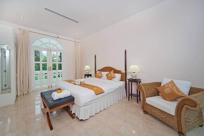 Bedroom with sofa see views Of Hua Hin Manor Palm Hills (Six)
