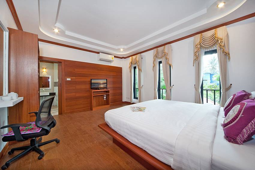 Bedroom with vanity and wardrobe Of BangTao Tara Villa 3 (Four)