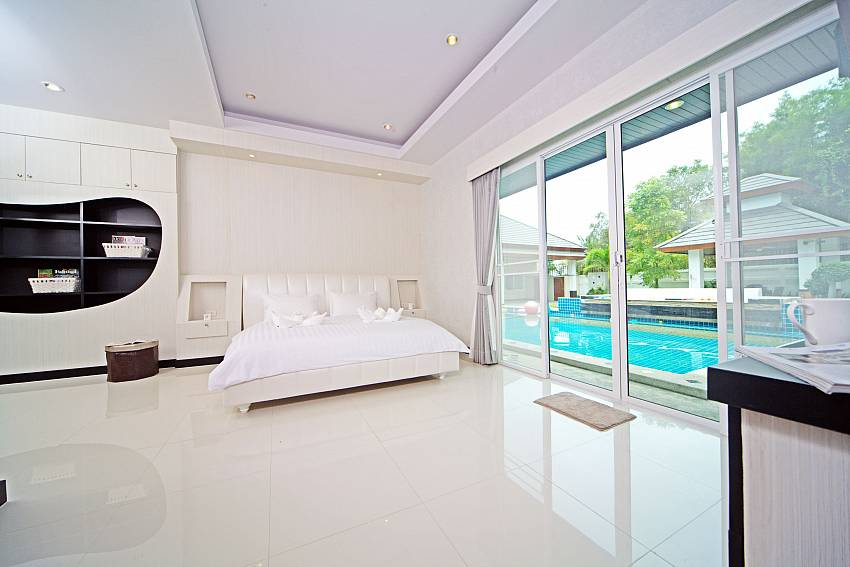 Bedroom near the pool Of Baan Piam Sanook (Third)