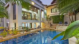 Angels Villa – 5-Bed – Modern Pratumnak Villa with Private Pool in Pattaya