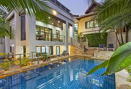 Angels Villa |  5 Bed Pool Villa at Pratumnak Hill in Pattaya
