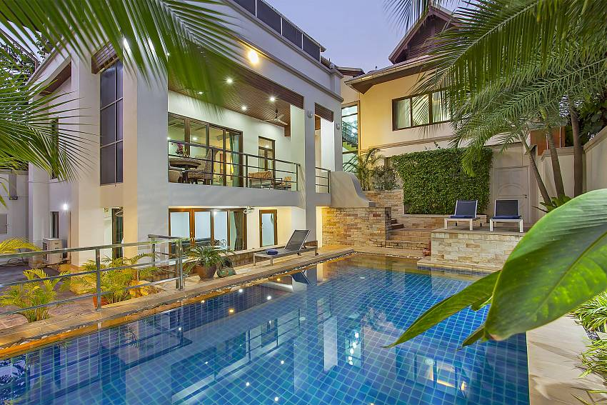 Angels Villa 5 Bed Pool Villa At Pratumnak Hill In Pattaya For Rent