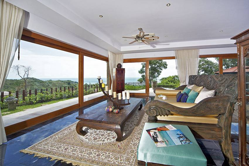 Reception room walking distance outward Of Summitra Villa No.2