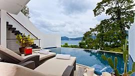 Villa Atika A6 - Modern Ocean View Patong Villa