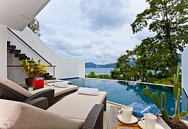 Seductive Sunset Villa Patong A6 | 3 Betten Haus mit Meerblick in Phuket
