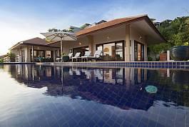 Villa de luxe 5 chambres avec piscine Choeng Mon Koh Samui