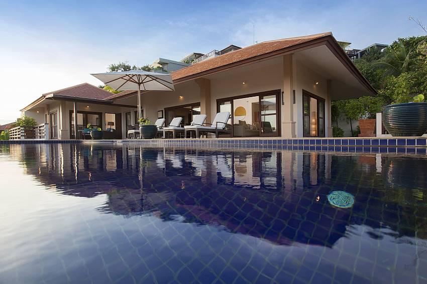 Swimming pool Of Cape Summitra Villa