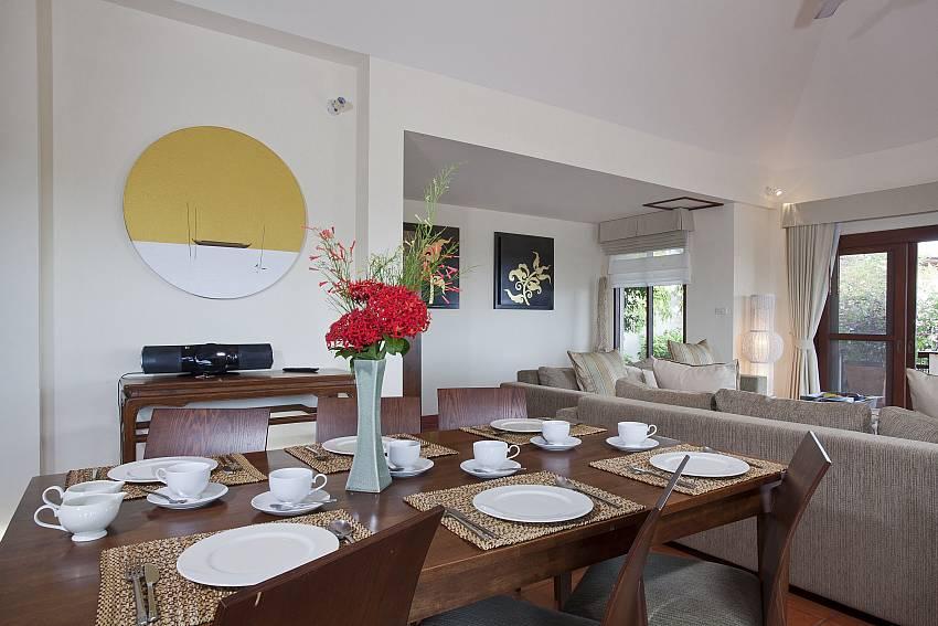 Dinning table Of Cape Summitra Villa