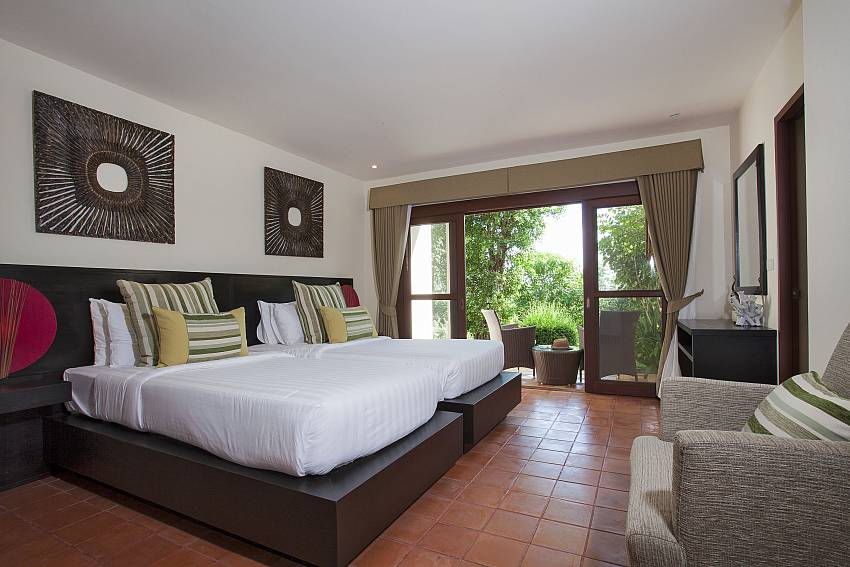 Double bedroom see view Of Cape Summitra Villa (First)