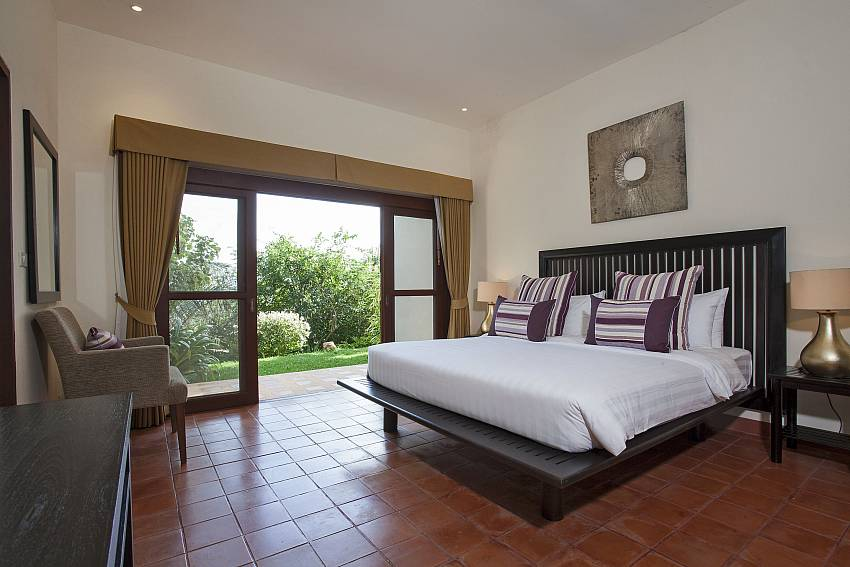 3. Bedroom can walk to outdoor Of Cape Summitra Villa (Third)