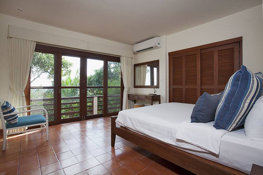 Bedroom see views Of Cape Summitra Villa (Four)