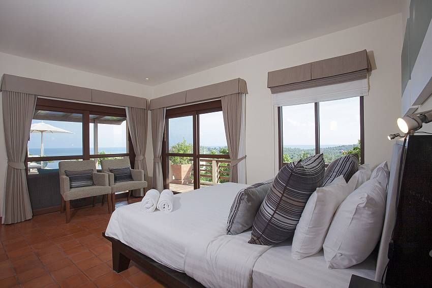 Bedroom with sofa Of Cape Summitra Villa (Five)
