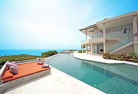 Summitra Villa No.3 – Villa ultra luxueuse 6 chambres avec piscine à Koh Samui