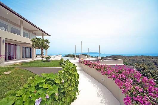 Аренда виллы на Самуи: Summitra Villa No. 3, 6 Спален. 45665 бат в день