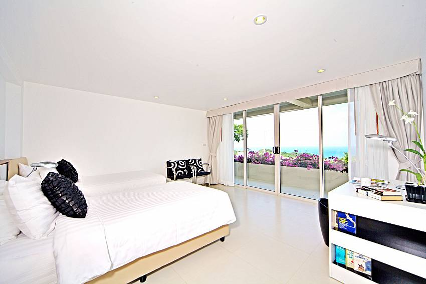 Bedroom see views with shelves Of Summitra Villa No.3 (Five)